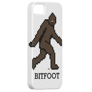 Bitfoot (el Bigfoot de 8 bits) iPhone 5 Fundas