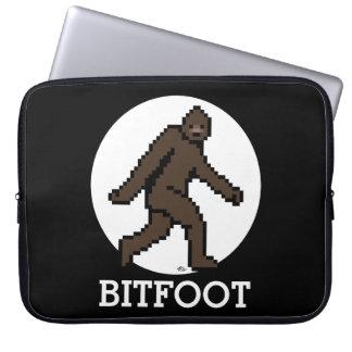 BITFOOT (the 8-bit Bigfoot) Computer Sleeve
