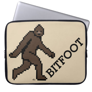 BITFOOT (the 8-bit Bigfoot) Laptop Sleeve