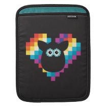 Bitmap Furby Heart iPad Sleeve