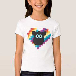 Bitmap Furby Heart T-Shirt