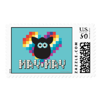 Bitmap Furby: May-May Postage