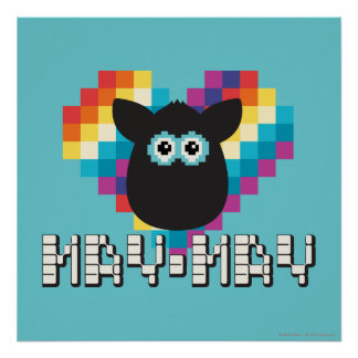 Bitmap Furby: May-May Poster