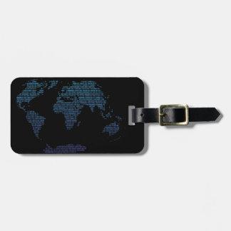 Bitmap Luggage Tag