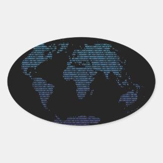 Bitmap Oval Sticker