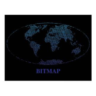 Bitmap Postcard