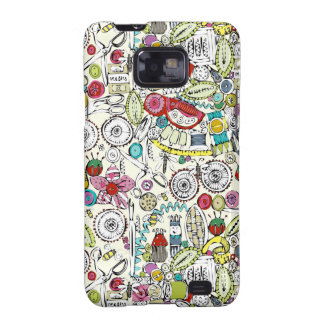 bits and bobs and bugs galaxy SII cases