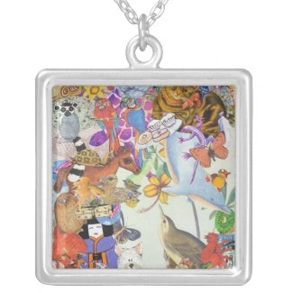 Bits & Bobs Collage 2 Necklace necklace