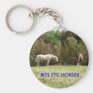 BITS ETC HORSES KEYCHAIN