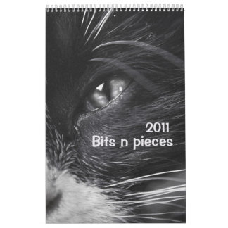 Bits n pieces 2011 calendar