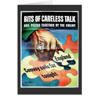 Bits Of Careless Talk Card