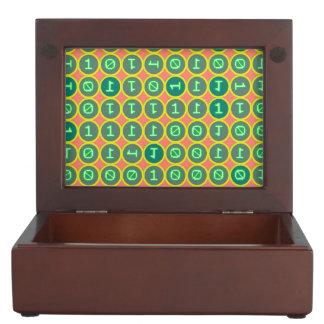 Bits pattern keepsake box