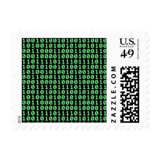 Bits pattern postage
