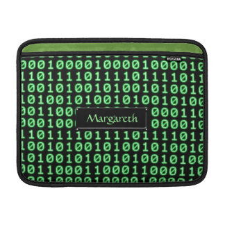 Bits pattern sleeve for MacBook air