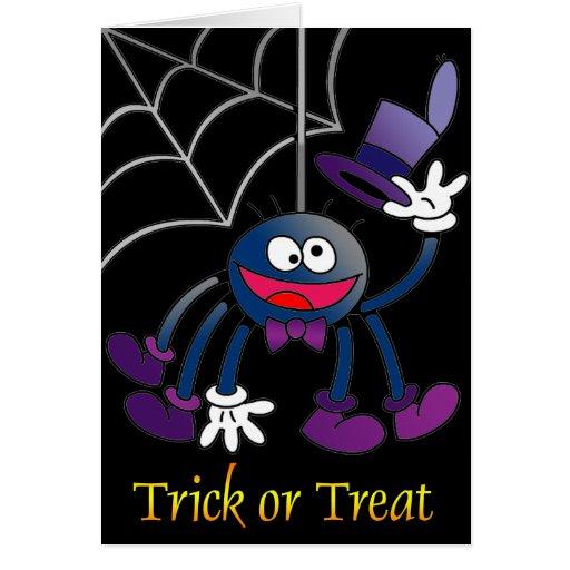 Bitsy Spider Greeting Card