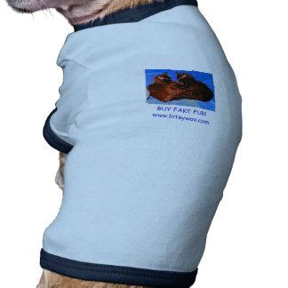 Bitsywoo Buy Fake Fur Pet Shirt
