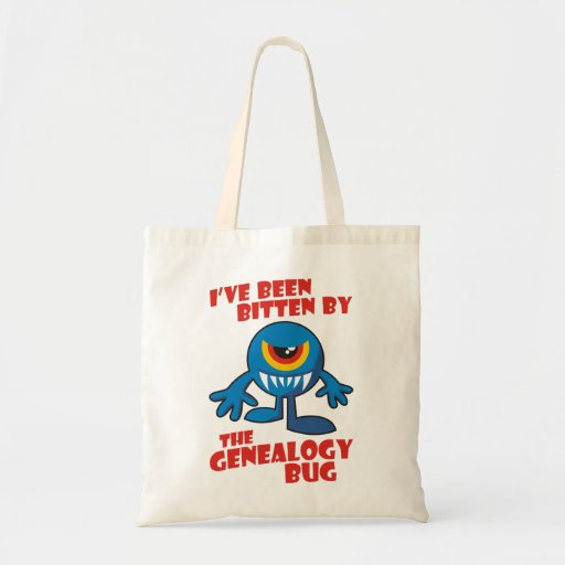 Bitten By The Genealogy Bug Budget Tote Bag