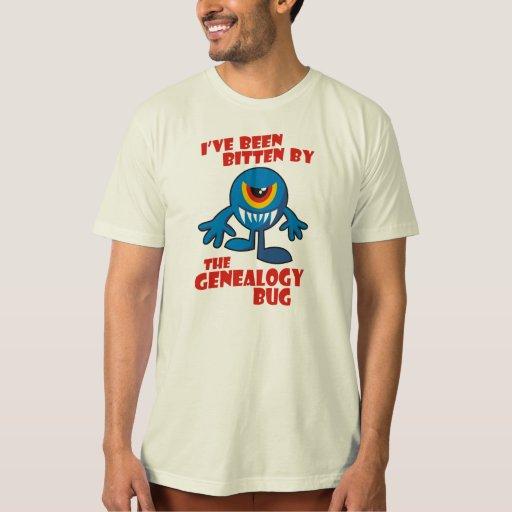 Bitten By The Genealogy Bug T Shirt
