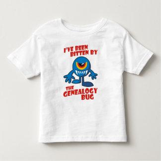 Bitten By The Genealogy Bug Toddler T-shirt