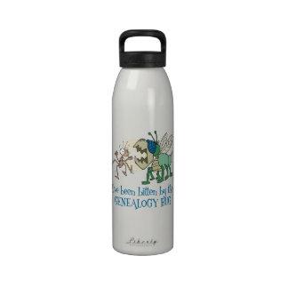 Bitten By The Genealogy Bug Drinking Bottles