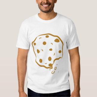 Bitten Chocolate Chip Cookie Men's Shirt