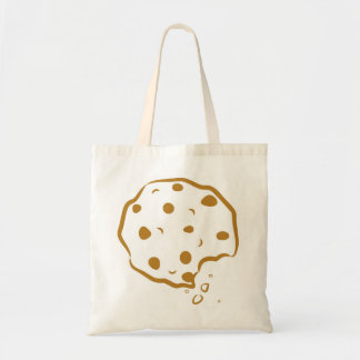 Bitten Chocolate Chip Cookie Tote Bag
