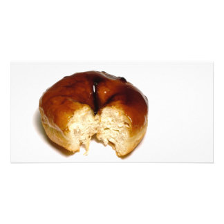 Bitten donut card