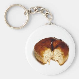 Bitten donut keychains