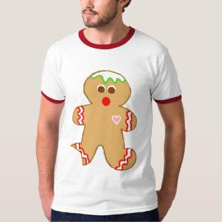 Bitten Gingerbread Man T-Shirt