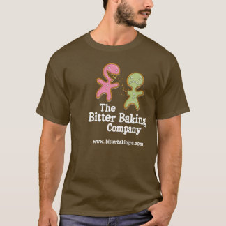 Bitter Baking Company Brown Logo Shirt