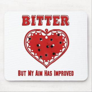 Bitter Bullet Heart Mouse Pad