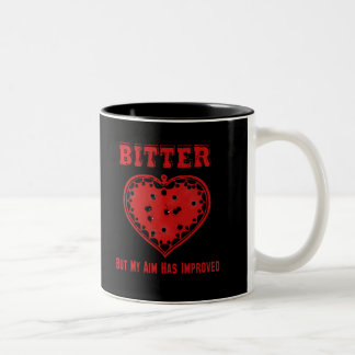 Bitter Bullet Heart Mug