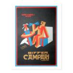 Bitter Campari Postcard