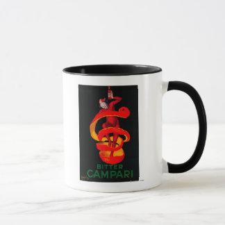 Bitter Campari Vintage PosterEurope Mug
