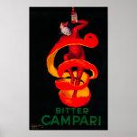 Bitter Campari Vintage PosterEurope Poster