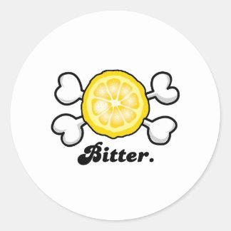 bitter classic round sticker
