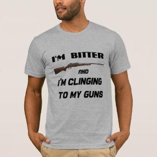 Bitter Clinger Funny Political T-Shirt