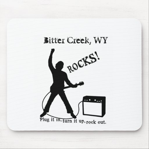 Bitter Creek, WY Mouse Pad