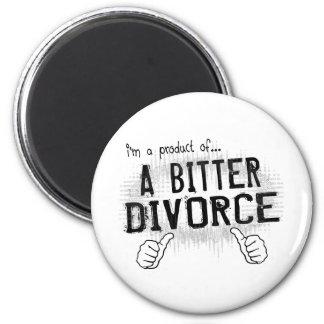 bitter divorce 2 inch round magnet