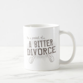 bitter divorce classic white coffee mug