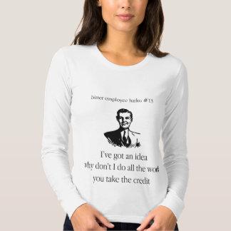 Bitter Employee Haiku #13 Tee Shirt
