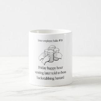 Bitter Employee Haiku 18 Coffee Mug