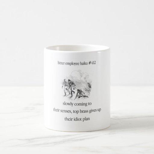 Bitter Employee Haiku #412 Coffee Mug