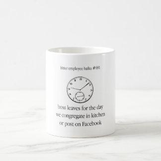 Bitter Employee Haiku 691 Coffee Mug