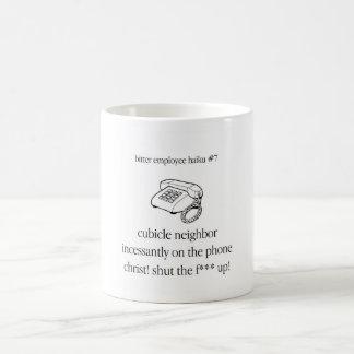 Bitter Employee Haiku #7 Coffee Mug