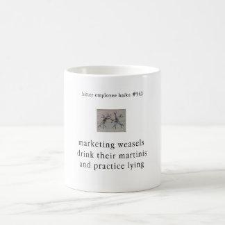 Bitter Employee Haiku #942 Classic White Coffee Mug