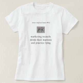 Bitter Employee Haiku # 942 T-Shirt