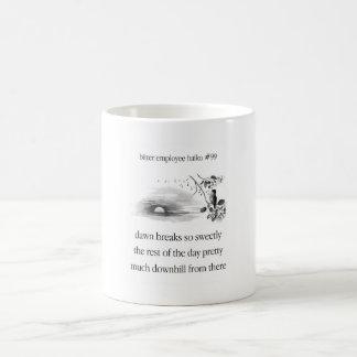 Bitter Employee Haiku 99 Coffee Mug
