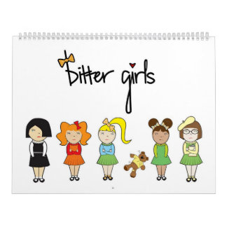 Bitter Girls Calender Calendar