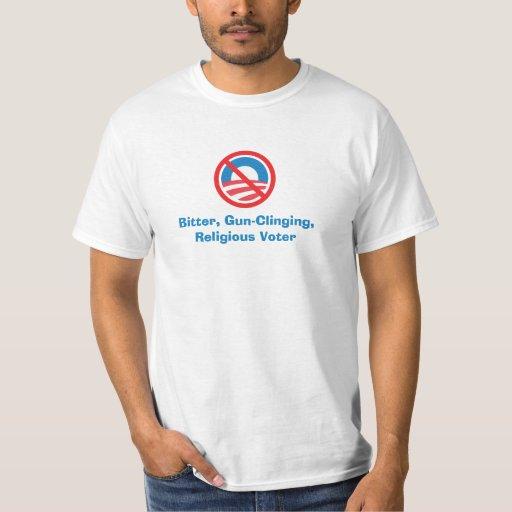 Bitter, Gun-Clinging, Religious Voter Tee Shirt